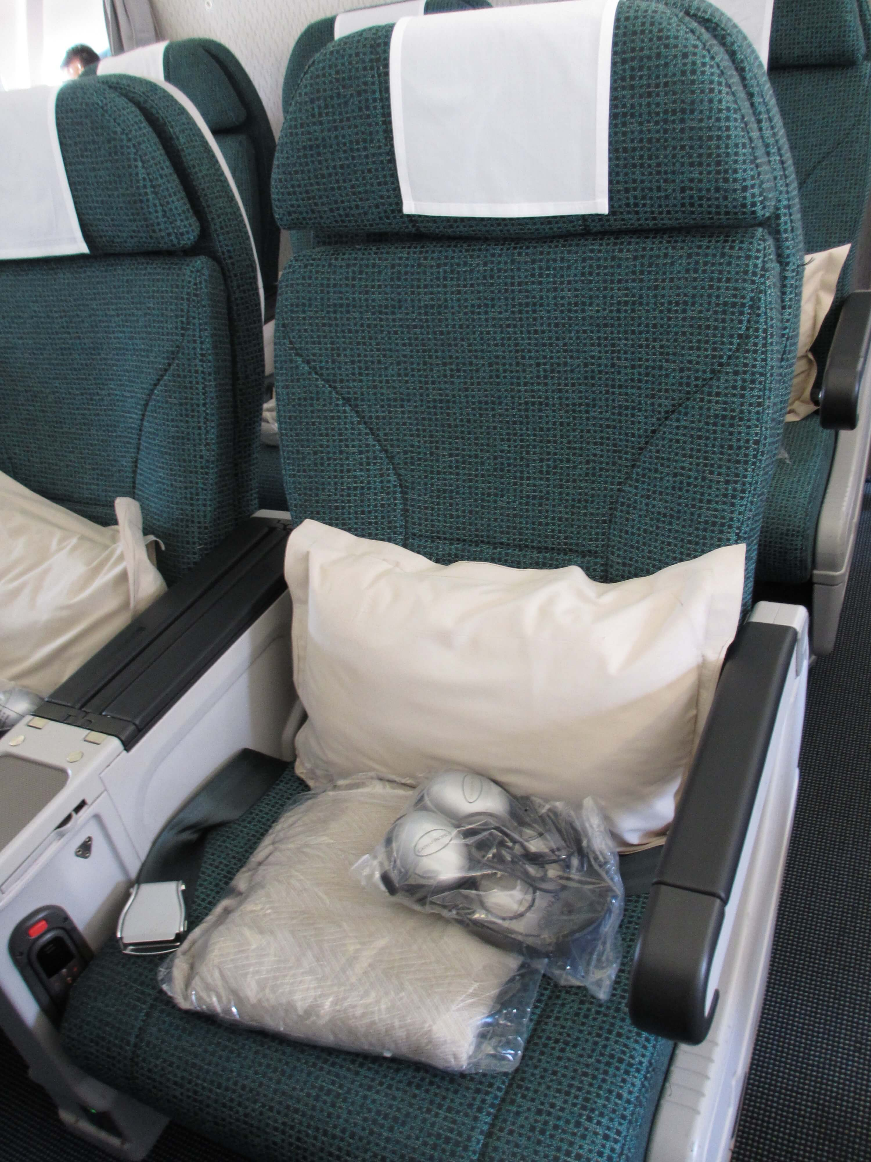 cathay pacific premium economy review frugal  class travel