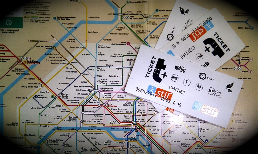 Paris Metro map and Metro tickets frugal first class travel How to use metro trains in Europe