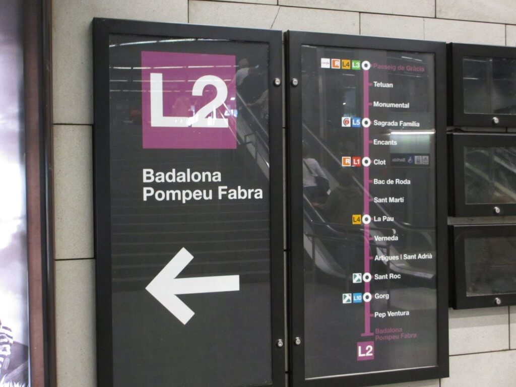 Barcelona Metro frugal first class travel How to use metro trains in Europe
