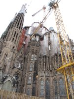 A visit to Sagrada Familia, Barcelona