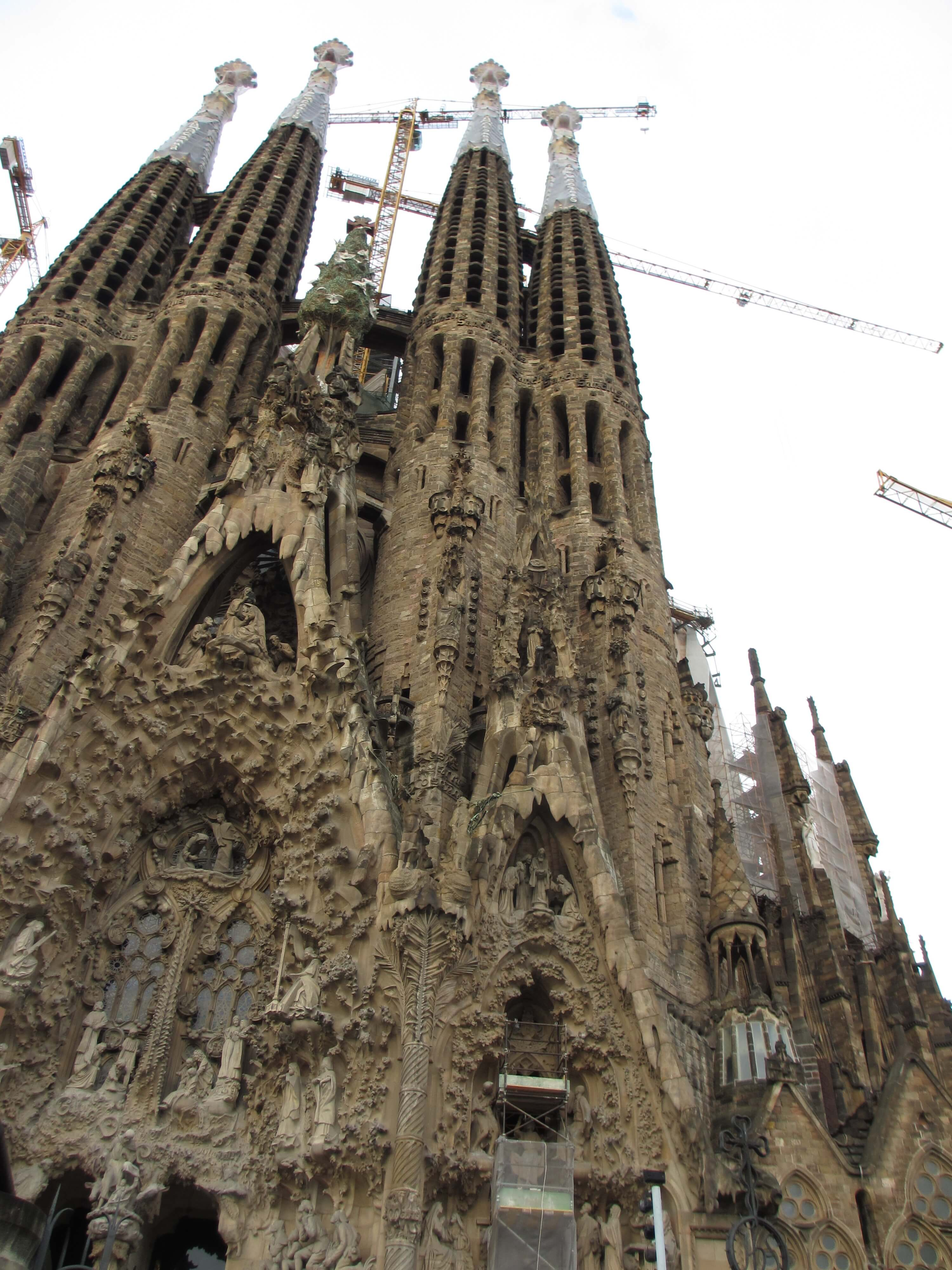 As I was leaving the Sagrada Familia in Barcelona the queue was over two hours long. I prebooked and walked straight in......