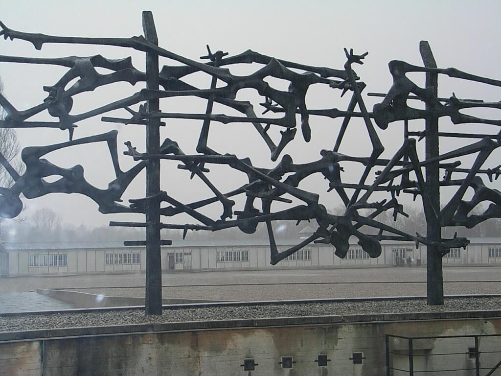 The trip to Dachau was confronting for all of us - but I'm glad we went