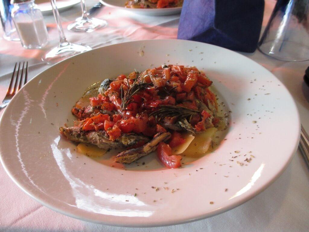 Seafood gnocchi
