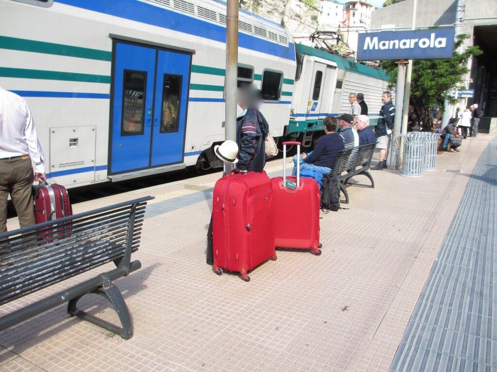 Manarola station Cinque Terre