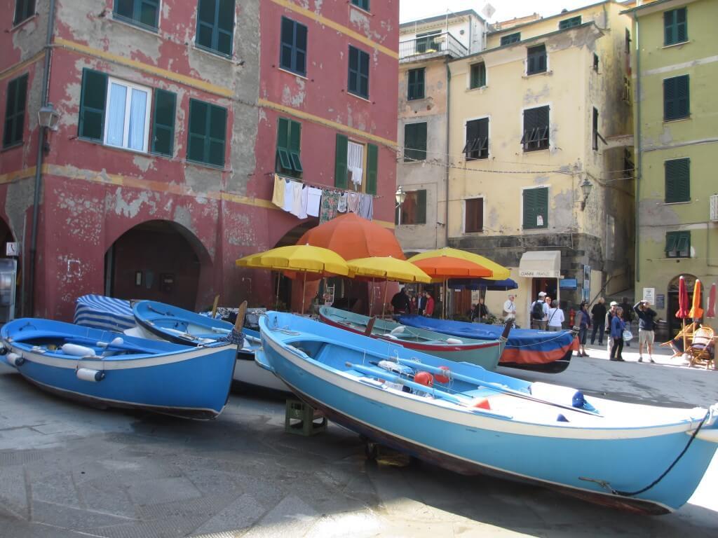 fishing boats at Vernazza, Cinque Terre