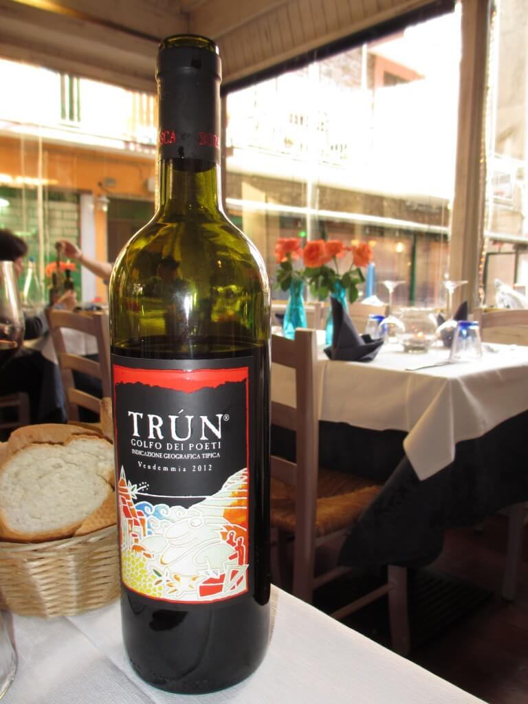 The Cinque Terre is more famous for its whites, but my travel companion and I got into the reds, and loved them