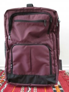 One bag travel: my new rolling backpack, handbag & toilet bag