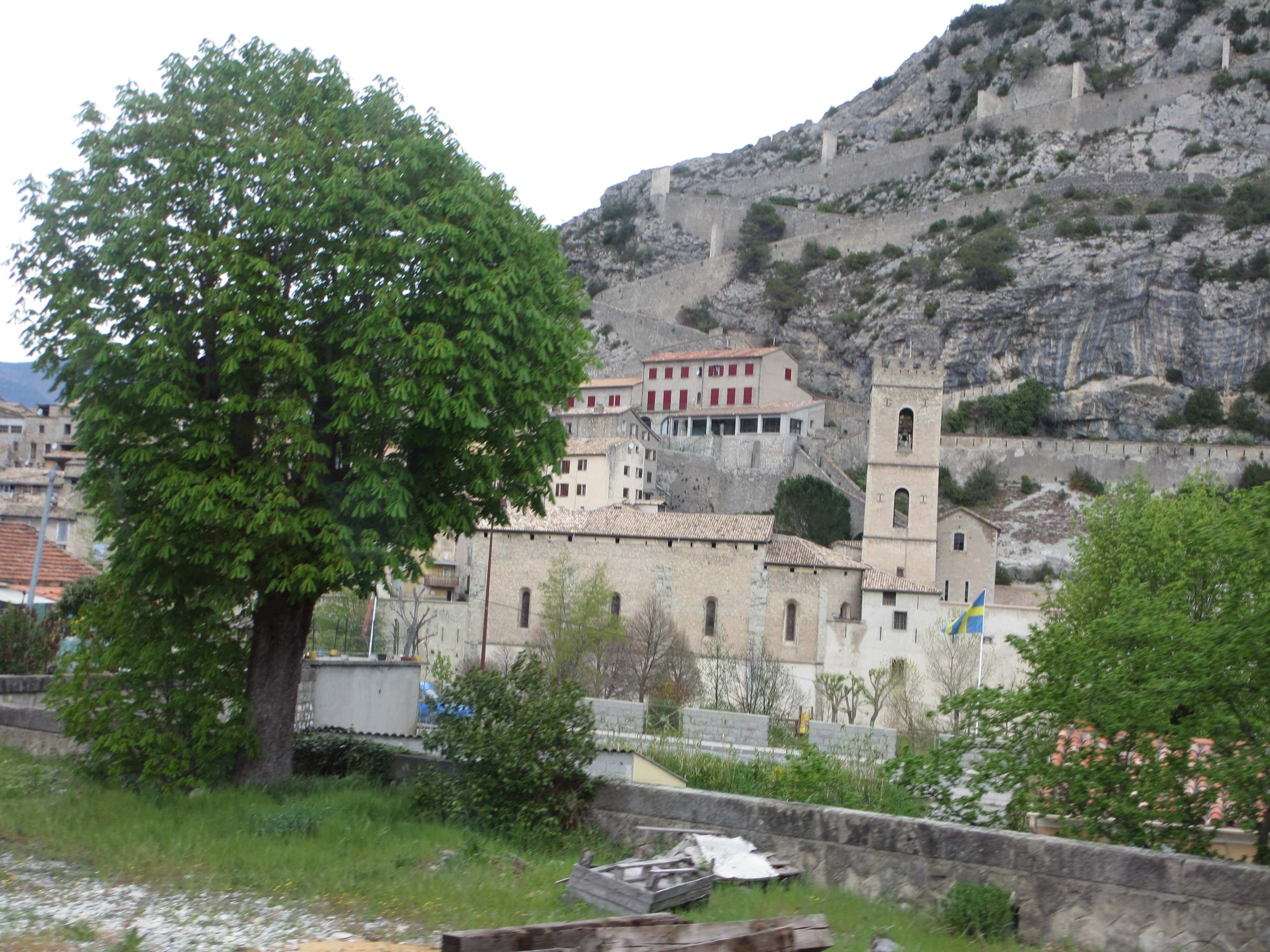 On the way to Digne-les-bains