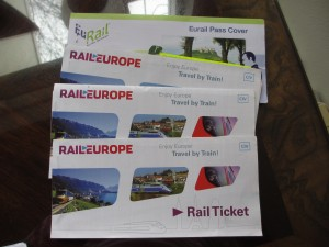 How I paid just $925 for my first class airfares and Railpass for Europe