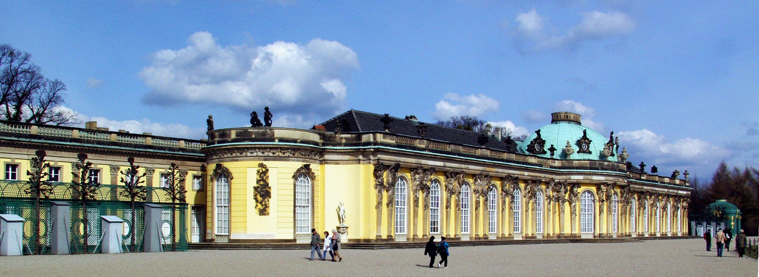 Schloss Sanssouci Photo credit: wikipedia commons