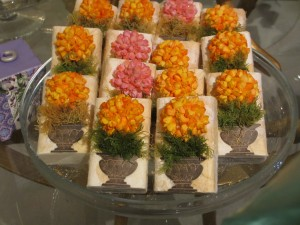 decorated soaps at Fortnum and Mason, London