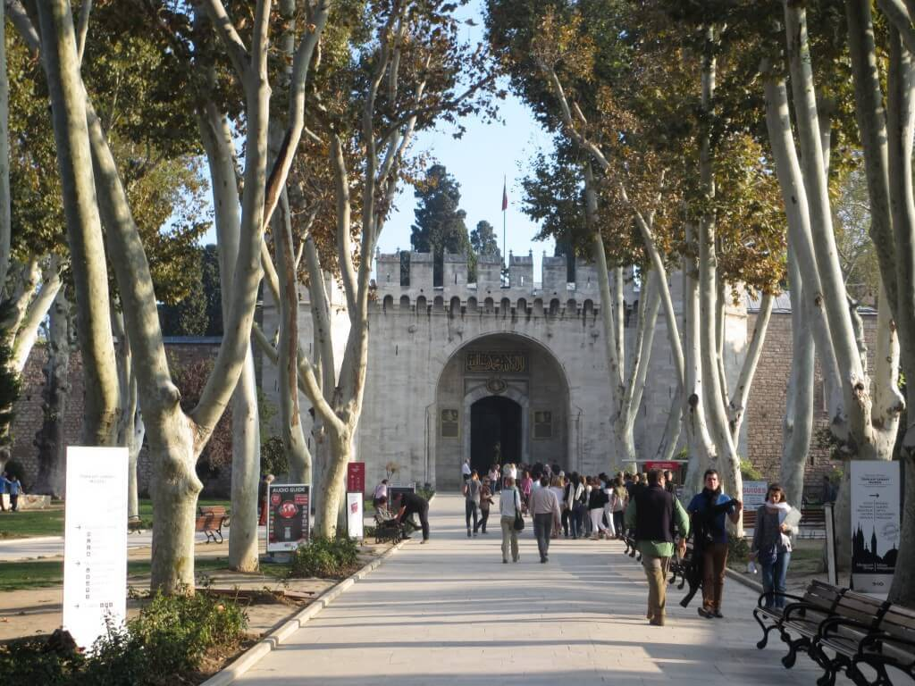 Entrance to the Topkapi Palace, Istanbul