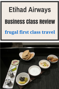 Etihad Airways Bus Class review update