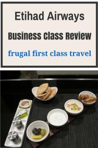 Etihad Airways Bus Class review update