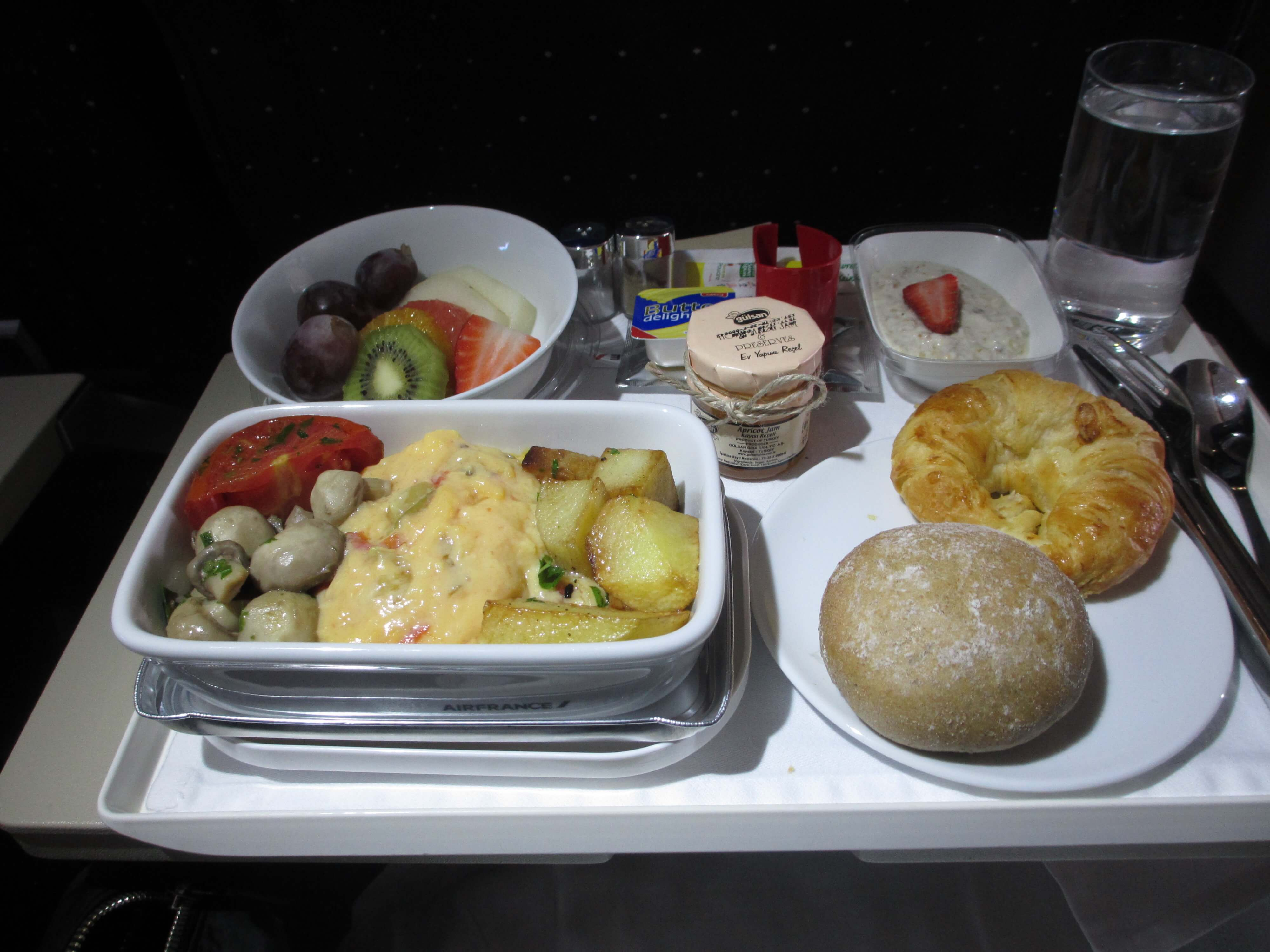 Air France Euro Business Class Review Frugal First Class