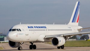 Air France A320 on the ground