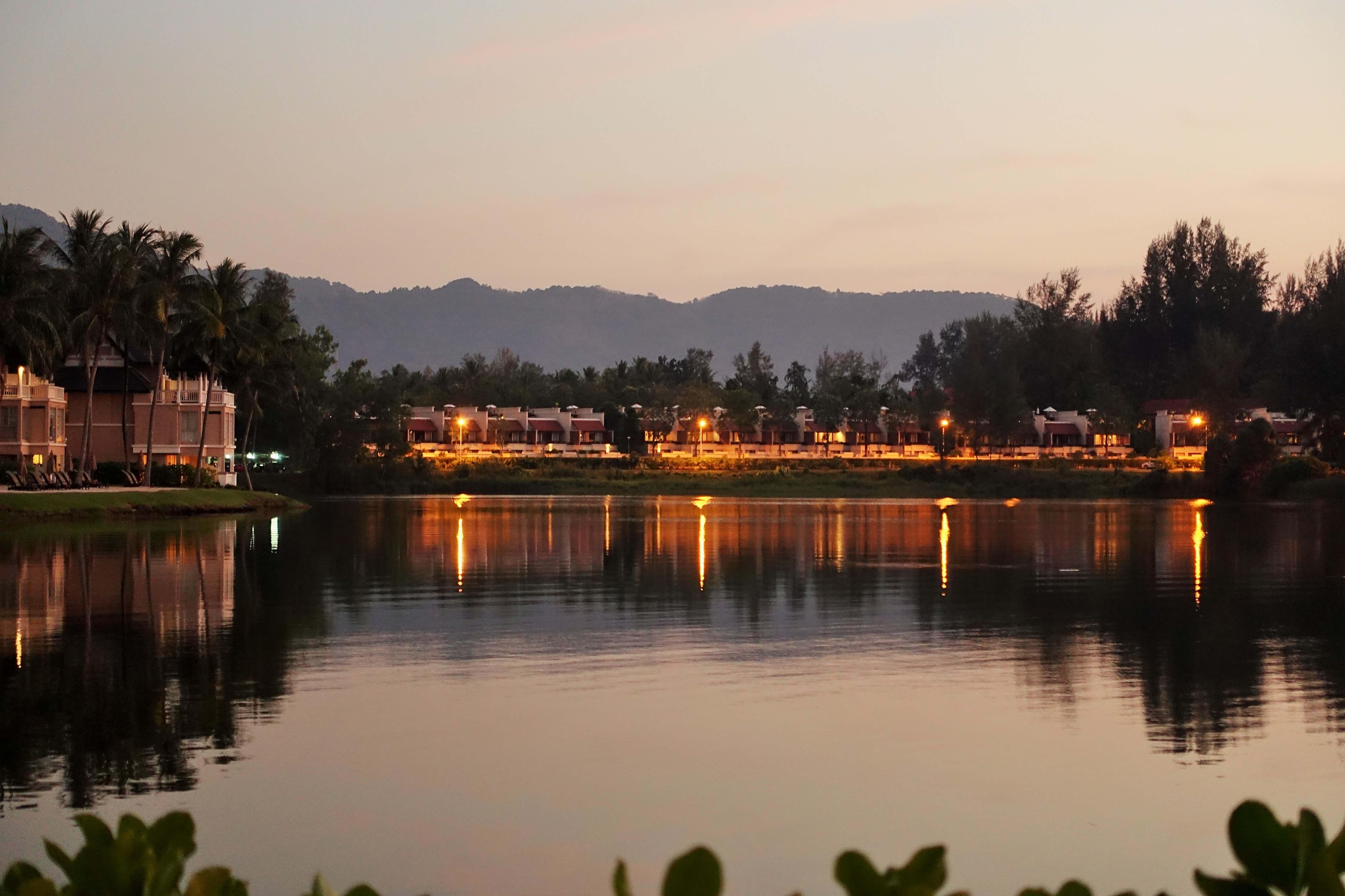 sunset on a lagoon, Angsana Laguna Phuket