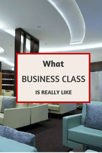 What is a Business Class Flight Like?