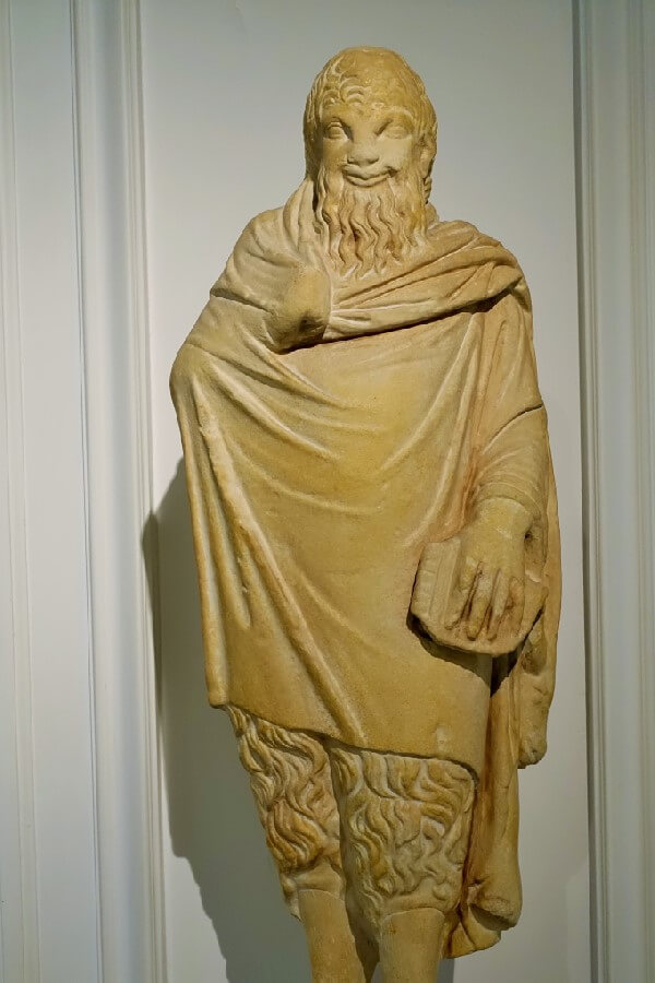 Ancient Greek statue Benaki Museum Athens