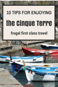 Ten tips for enjoying the Cinque Terre