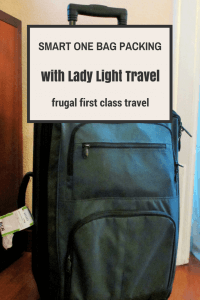 The smartest one bag traveler: my interview with Lady Light Travel