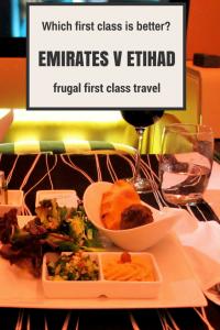 Emirates v Etihad first class comparison