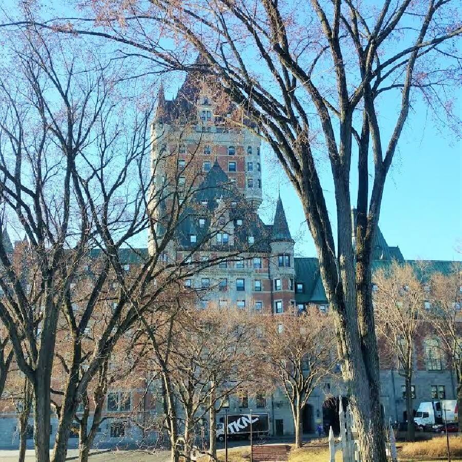 Hotel Frontenac How to choose a hotel frugal first class travel style