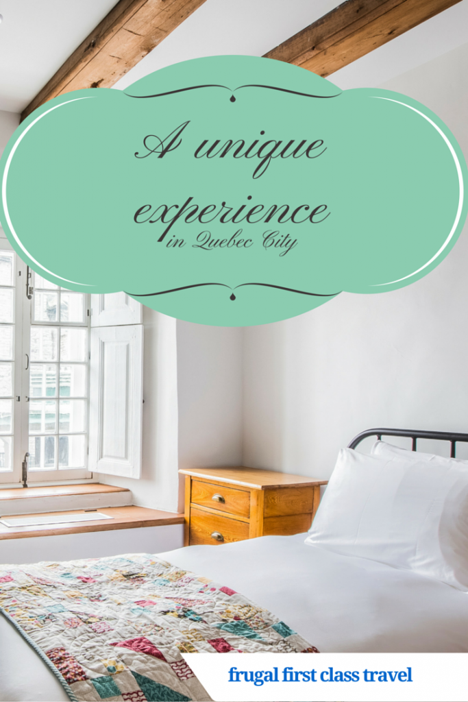 A unique experience in Quebec City