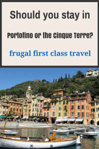 Should you stay in Portofino or the Cinque Terre?