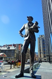How French is Quebec? frugal first class travel