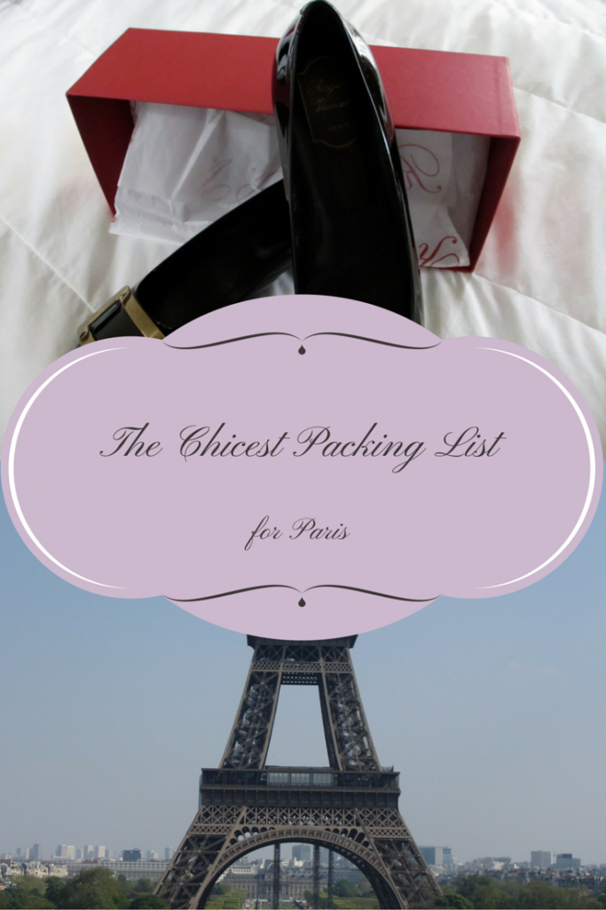Paris Packing List