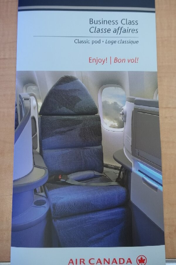 Air Canada Business Class Review