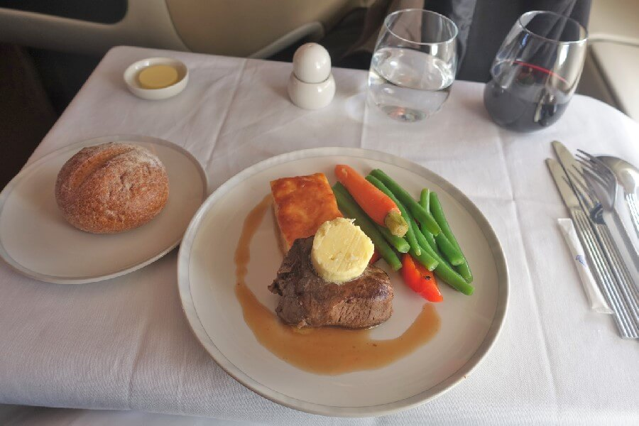 Singapore Airlines Business Class A380 review