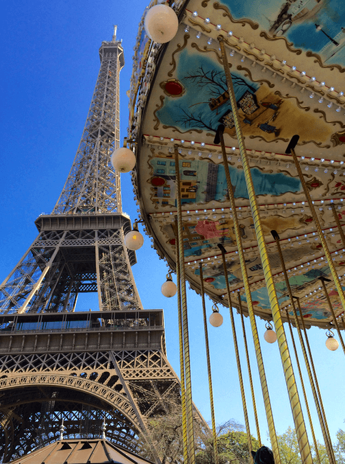 She went to Paris because...... 25 reasons to visit Paris