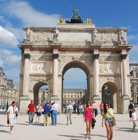 She went to Paris because...... 25 reasons to visit Paris
