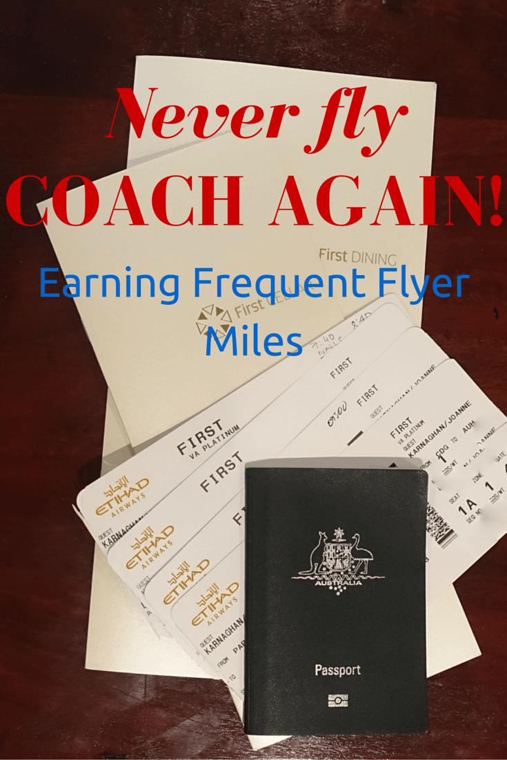 Earning Frequent Flyer Miles