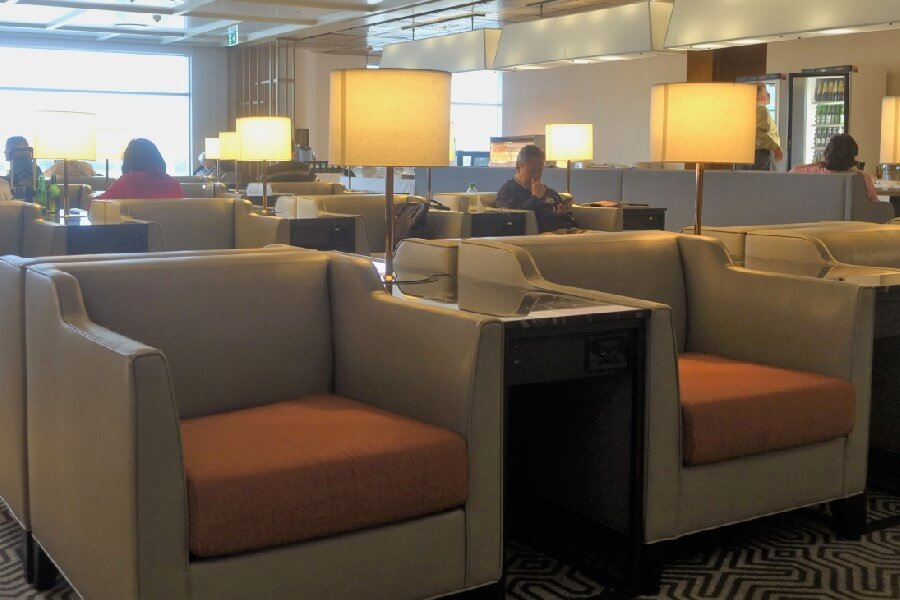 Singapore Airlines Silver Kris Lounge Sydney