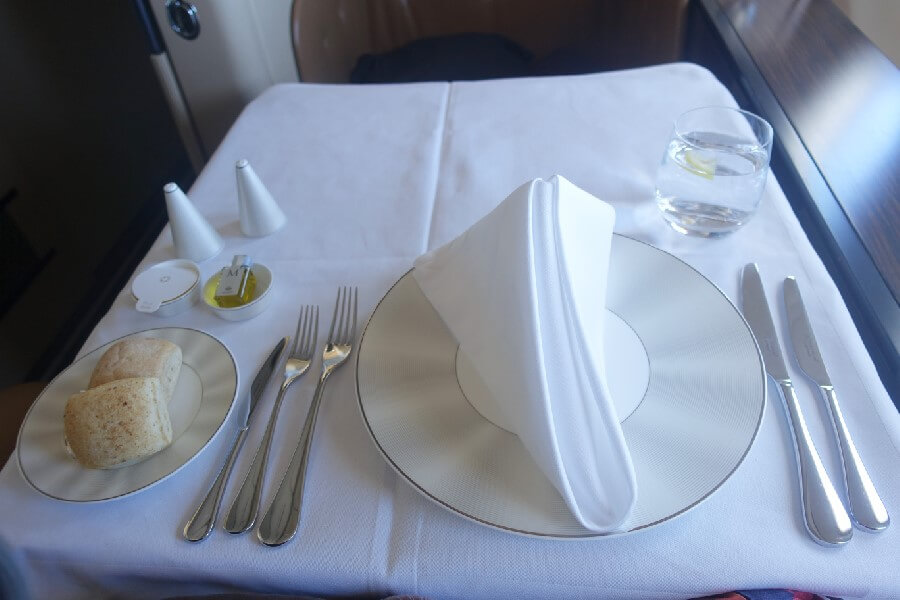 Etihad First Class review 2015