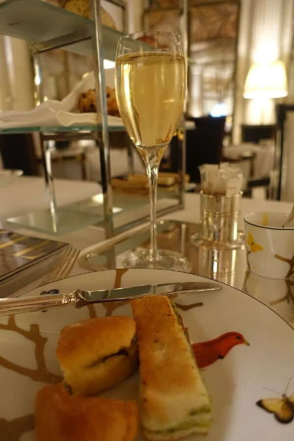 Is the best afternoon tea in Paris at Le Meurice?