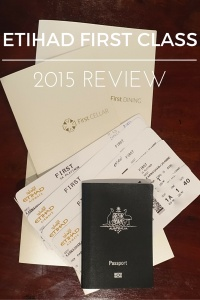 Etihad First Class 2015 review