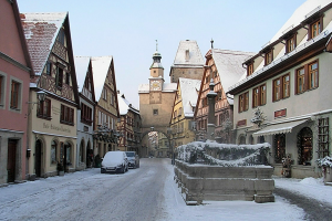A visit to Rothenburg, Germany