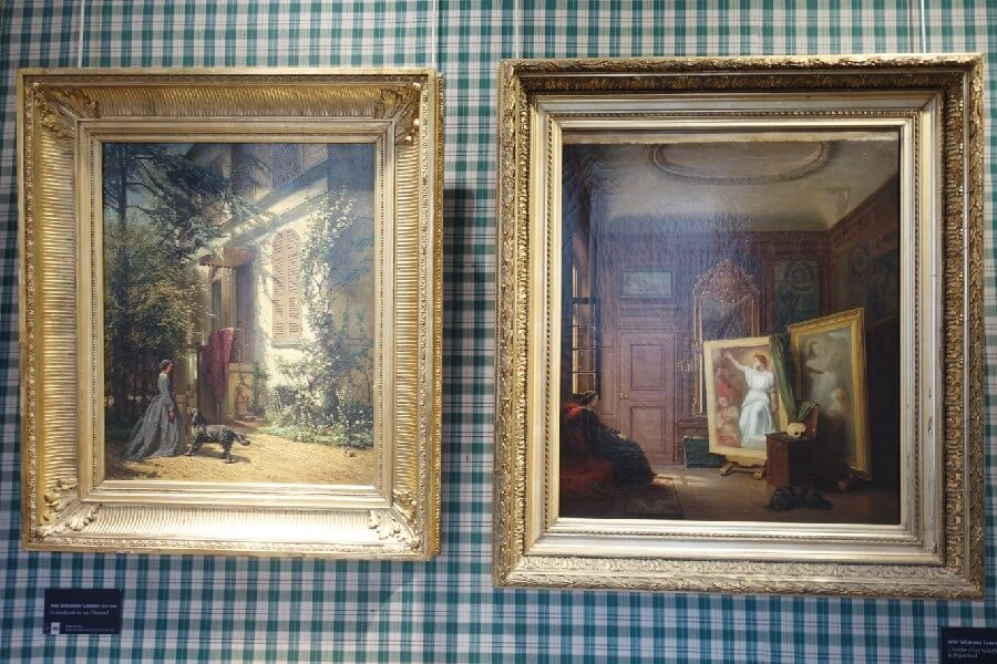 Three free museums in Paris you need to visit - paintings in the Musee de la Vie Romantique