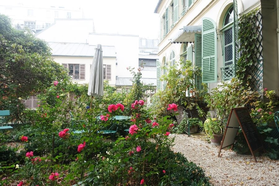 Three free museums in Paris you need to visit - garden of the Musee de la Vie Romantique