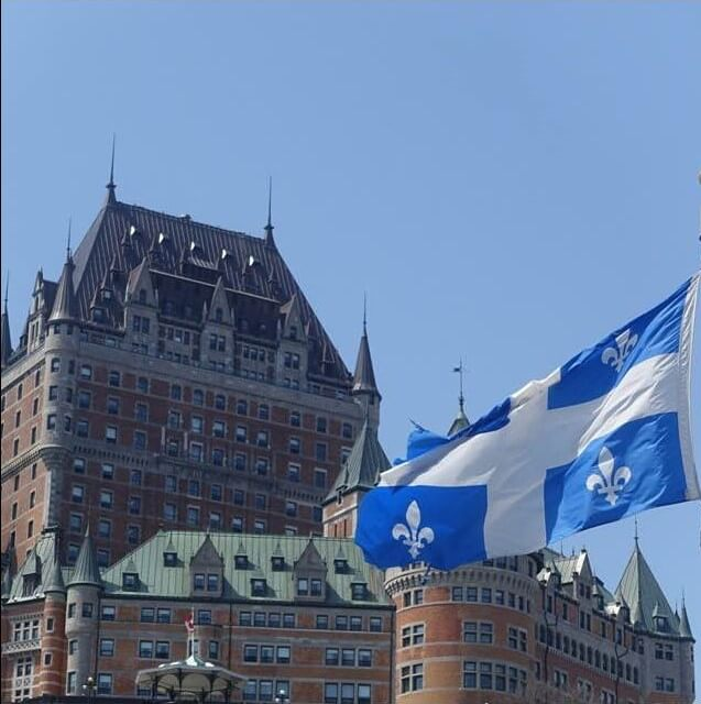 The Chateau Frontenac Quebec City