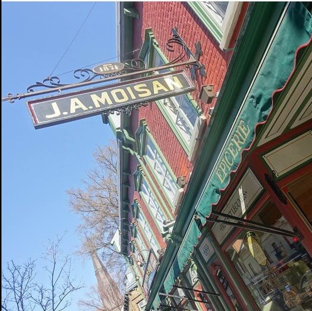 J. A Moisan is a traditional grocer in Quebec City, Canada