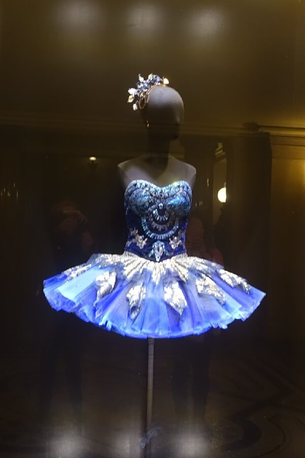Ballet costume at the Opera Garnier Watching rehearsals at the Opera Garnier
