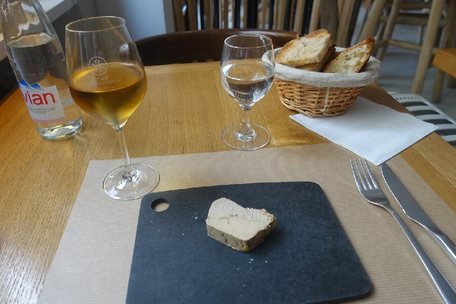 Foie Gras Best brasserie foods in Paris