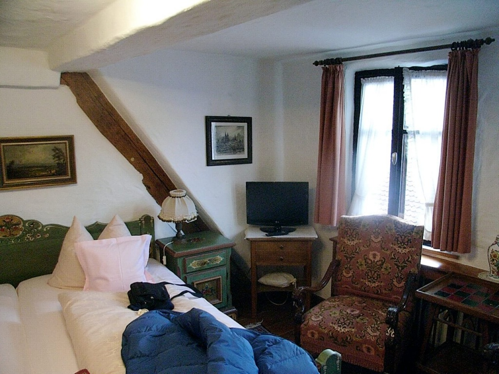 Interiors at the Hotel Spitzweg, Rothenburg, Germany, The best frugal first class hotels in Europe