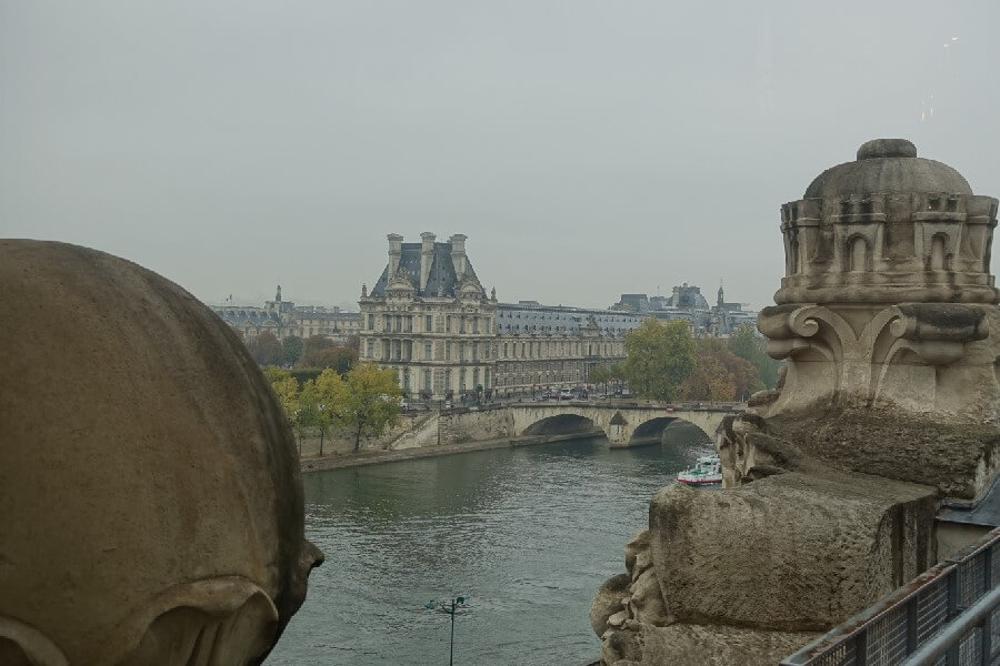 Join me on a Musee d'Orsay Private Tour. View of the Louvre from the windows of the Musee d'Orsay