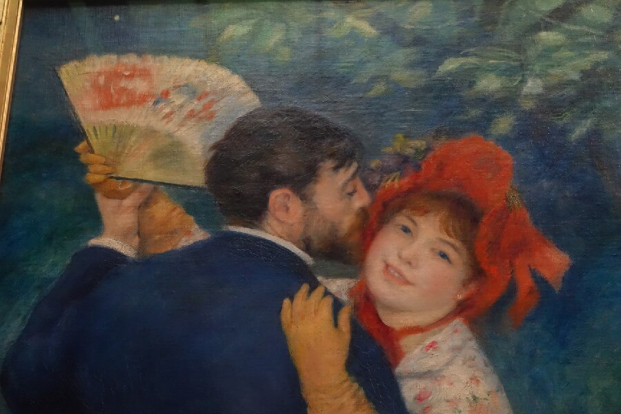 Renoir painting The County Dance